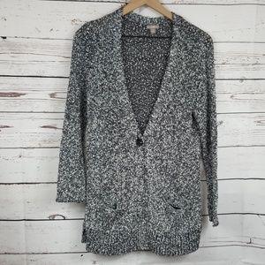 J. Jill | Marled Knobby Knit Long Cardigan Sweater